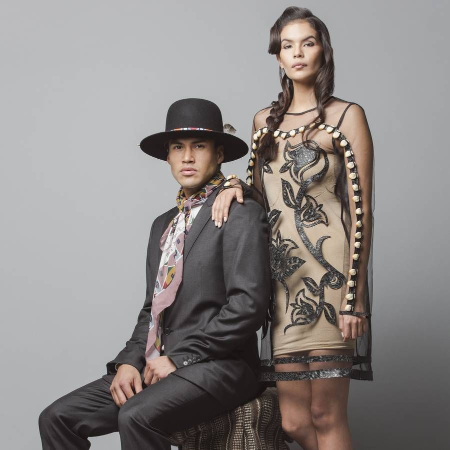 Image result for Native American Fashion Designer Bethany Yellowtail Makes Dresses With a Message