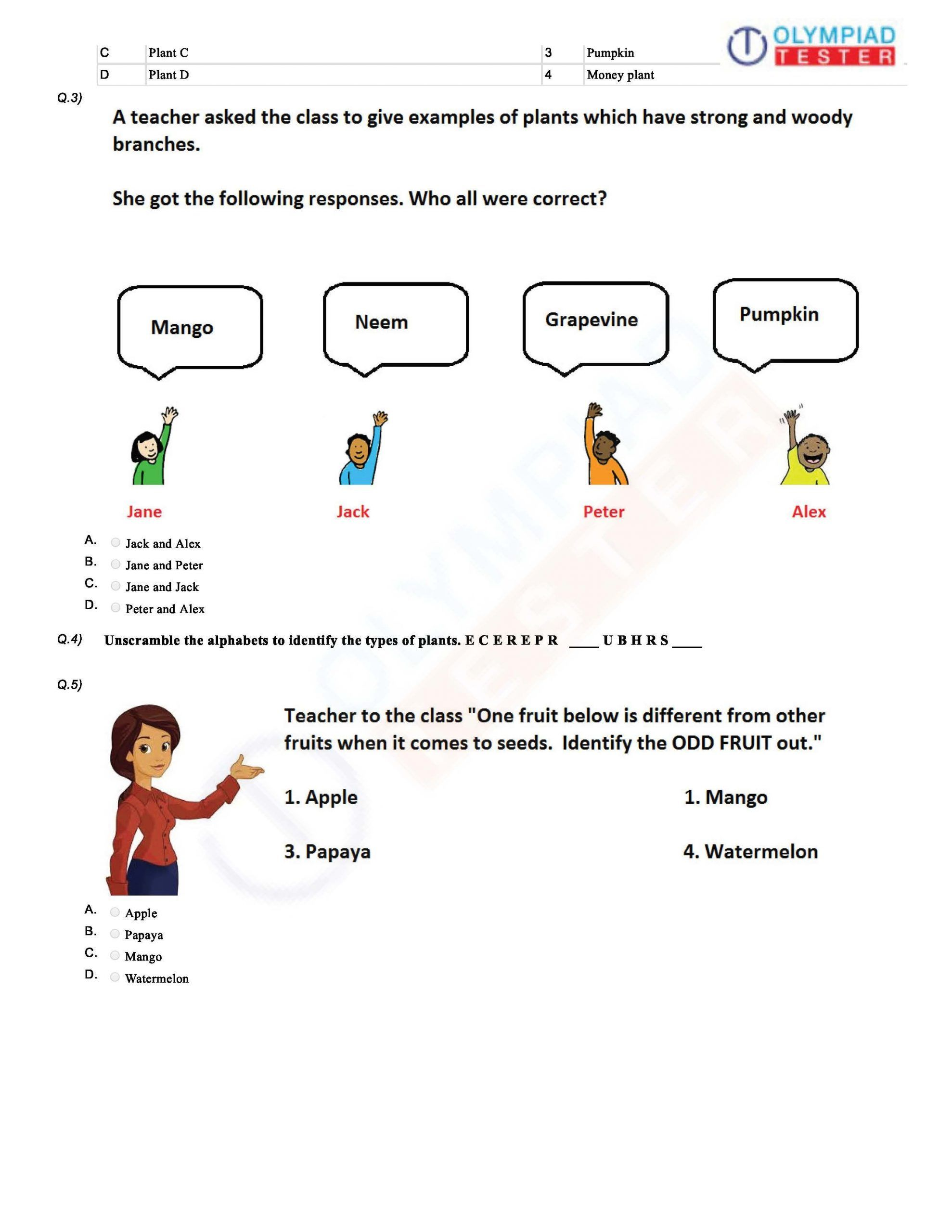 Reasoning Worksheets For Grade 1 In