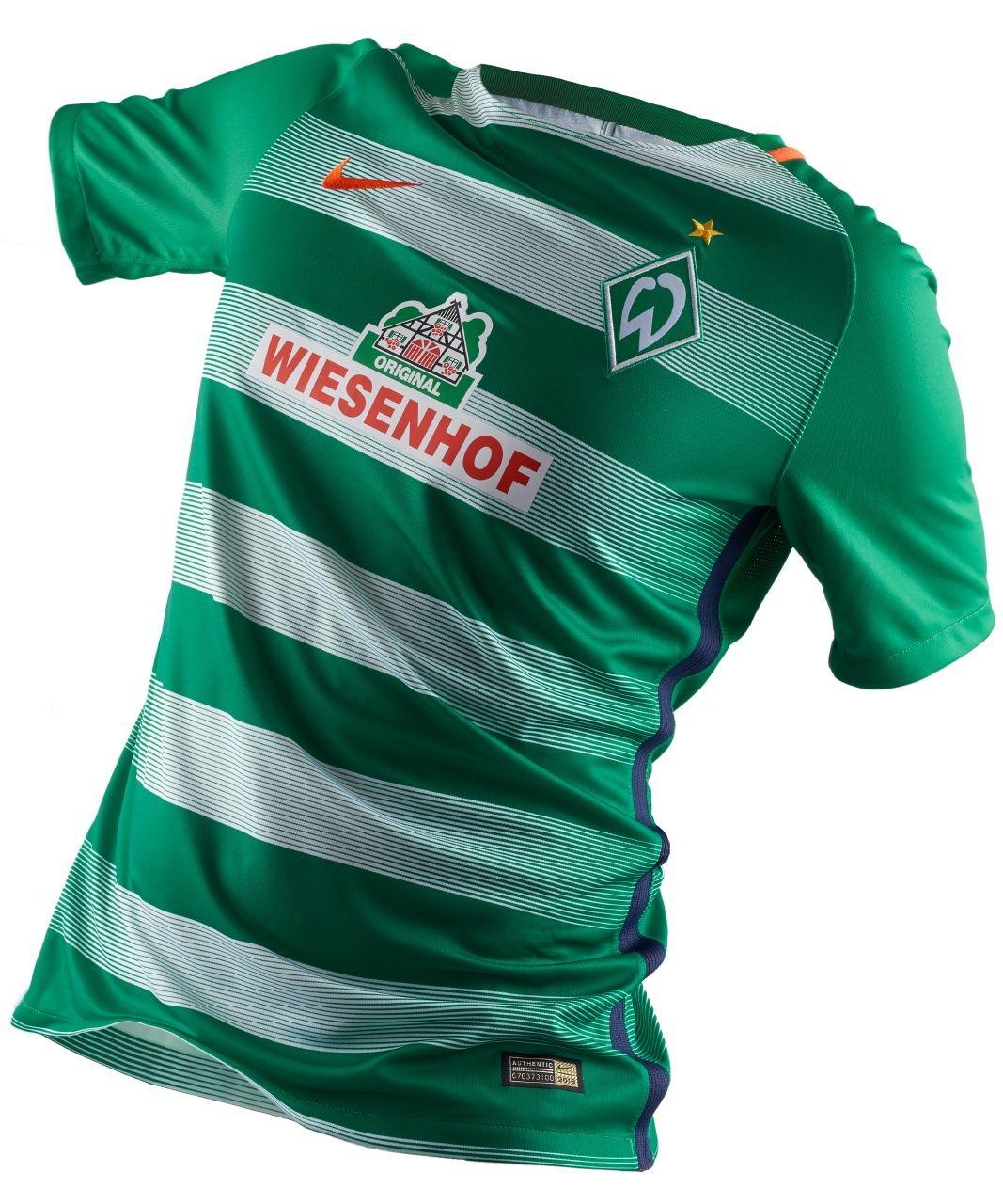 33761357e0d Camisas do Werder Bremen 2016-2017 Nike kit