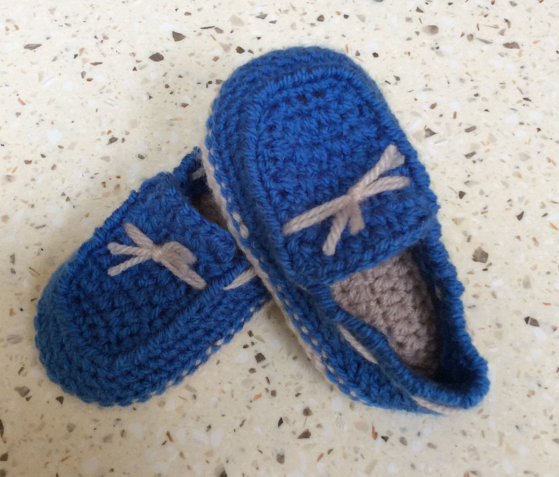 Crocheted baby boy loafers crocheted shoes baby shoes by