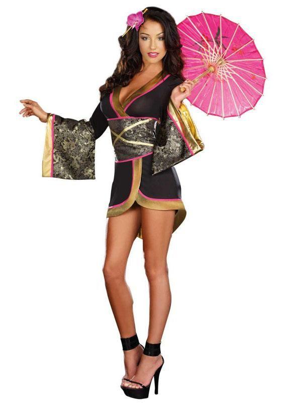 1b07b56da1 A Sexy Geisha Costume For Adults