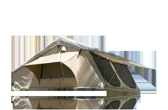 Details about 4-Person Canvas Roof Top Tent for 4WD Offroad Fishing C&ing Canopy  sc 1 st  Pinterest & Details about 4-Person Canvas Roof Top Tent for 4WD Offroad ...