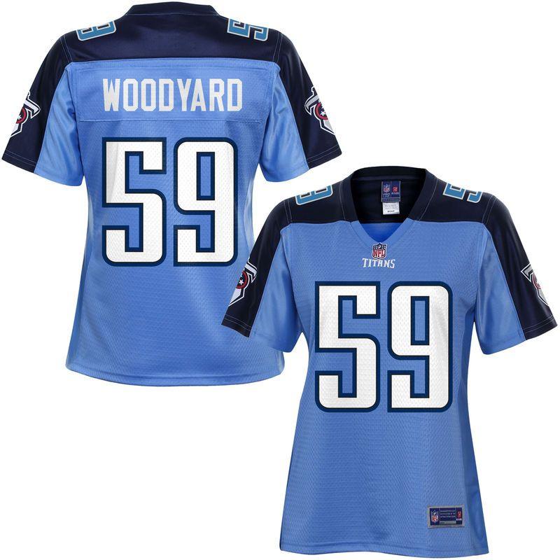 best service f1c12 21c9f NFL Pro Line Women's Tennessee Titans Wesley Woodyard ...