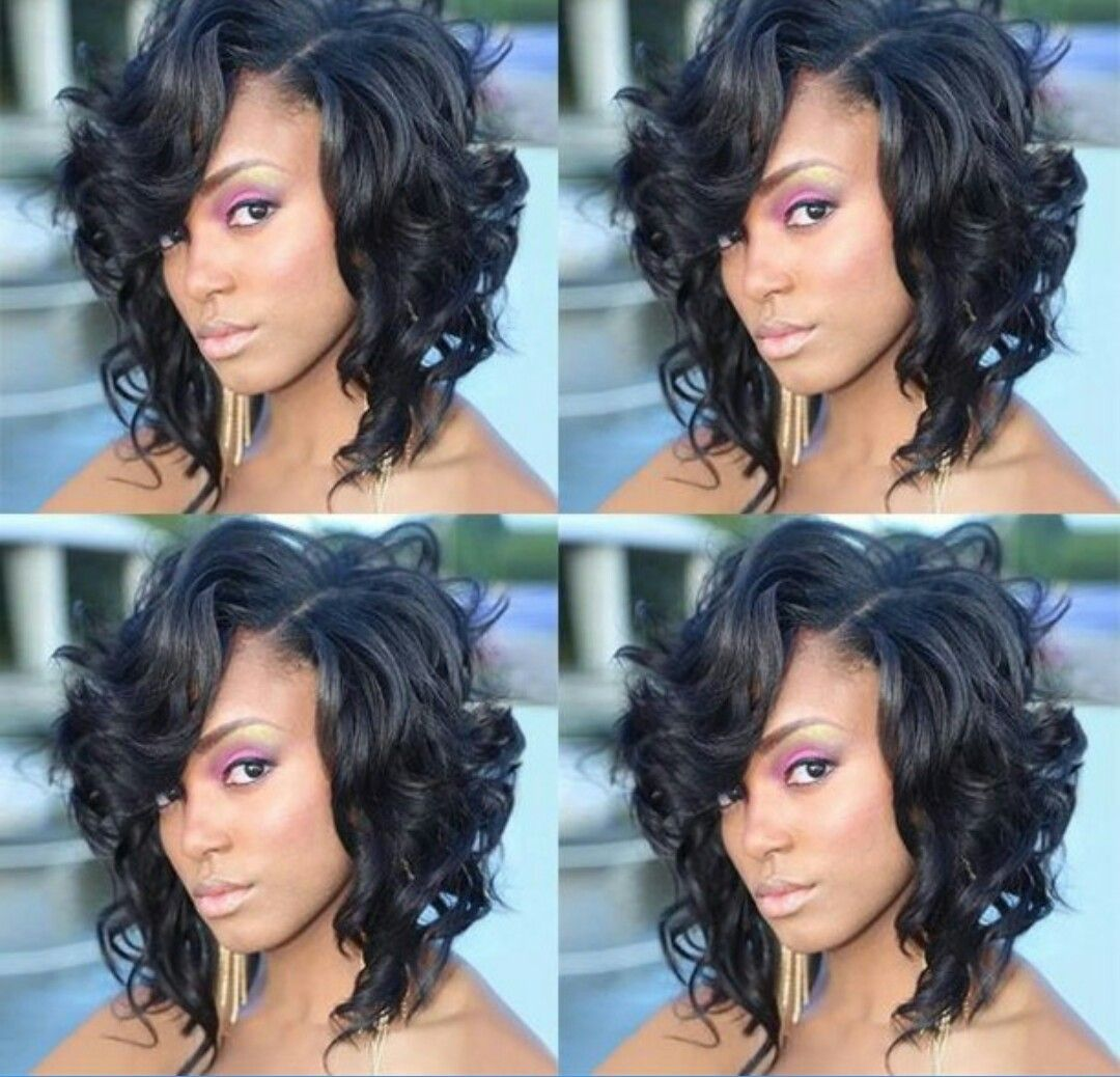 Cute Flirty Quick Weave Hairstyles Cute Hairstyles For Short Hair Natural Hair Styles