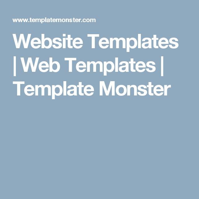 Website Templates | Web Templates | Template Monster | 2.2 AAK ...
