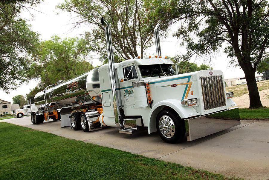 Cali Milk Tanker Trucks Peterbilt Tanker Trucking