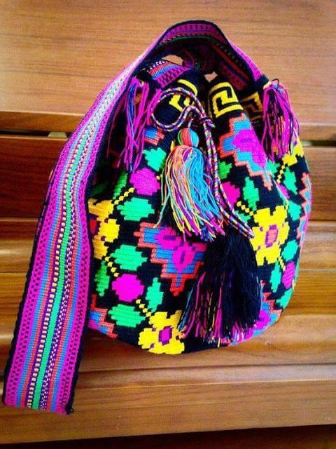 Patrón #1648: Mochila Wayuu | CTejidas [Crochet y Dos Agujas ...