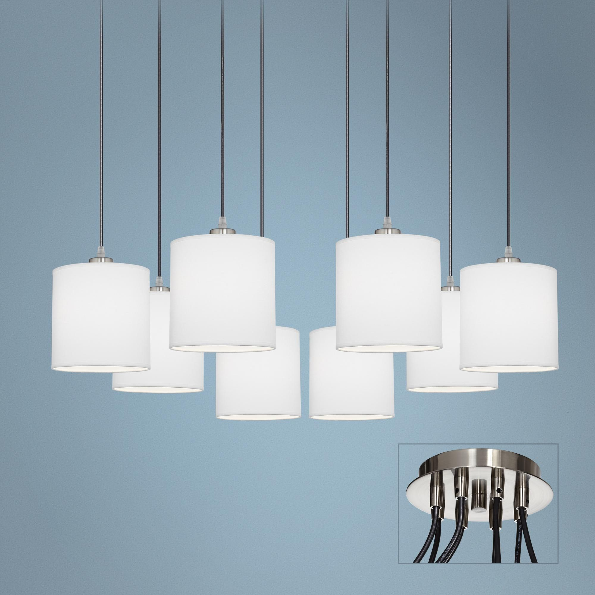 Otta 8-Light Adjustable Swag Chandelier - | lighting | Pinterest ...