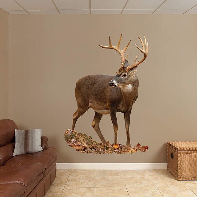 deer fathead wall decal noah in 2019 hunting bedroom on wall stickers id=54859