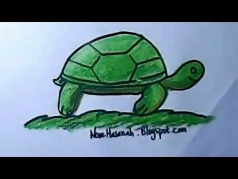 How To Draw For Kids Turtle Drawing For Kids Turtle Turtle Drawing