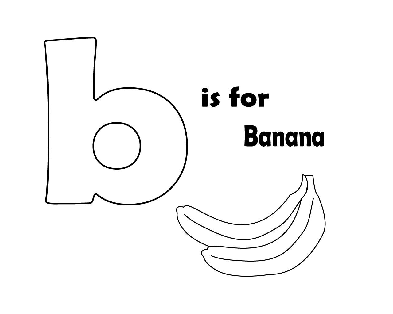 Printable Letter B Coloring Pages For Kids Letter B Coloring Pages Letter A Coloring Pages Coloring Pages