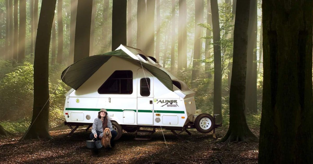 Adventure in Tow: Lightweight Campers with All the Amenities