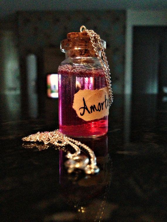 Miniature Amortentia Love Potion Harry Potter Potion Bottle