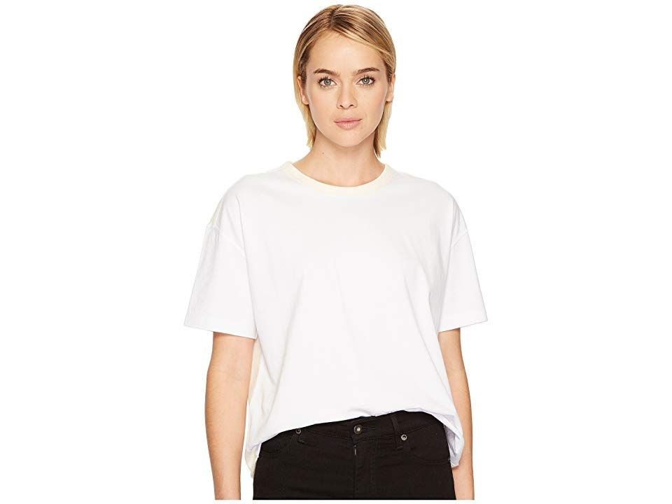 2558638227c Levi s(r) Premium Made Crafted Boxy Tee (Bright White) Women s Clothing. Be  simple in the Levi s Premium Made Crafted Boxy Tee. Crew neck tee.