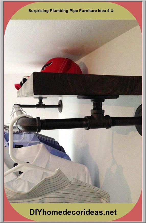 Photo of How to build an industrial pipe Redux pipe cabinet organizer #plumbingpipes …