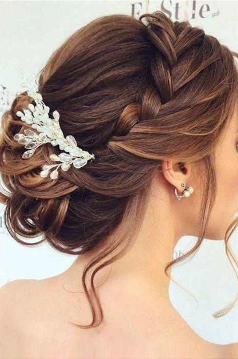 Más agudo peinados informales para boda Imagen de tutoriales de color de pelo - Peinado Novia Recogido Medio 3 - Pétalos de Novia - Blog ...
