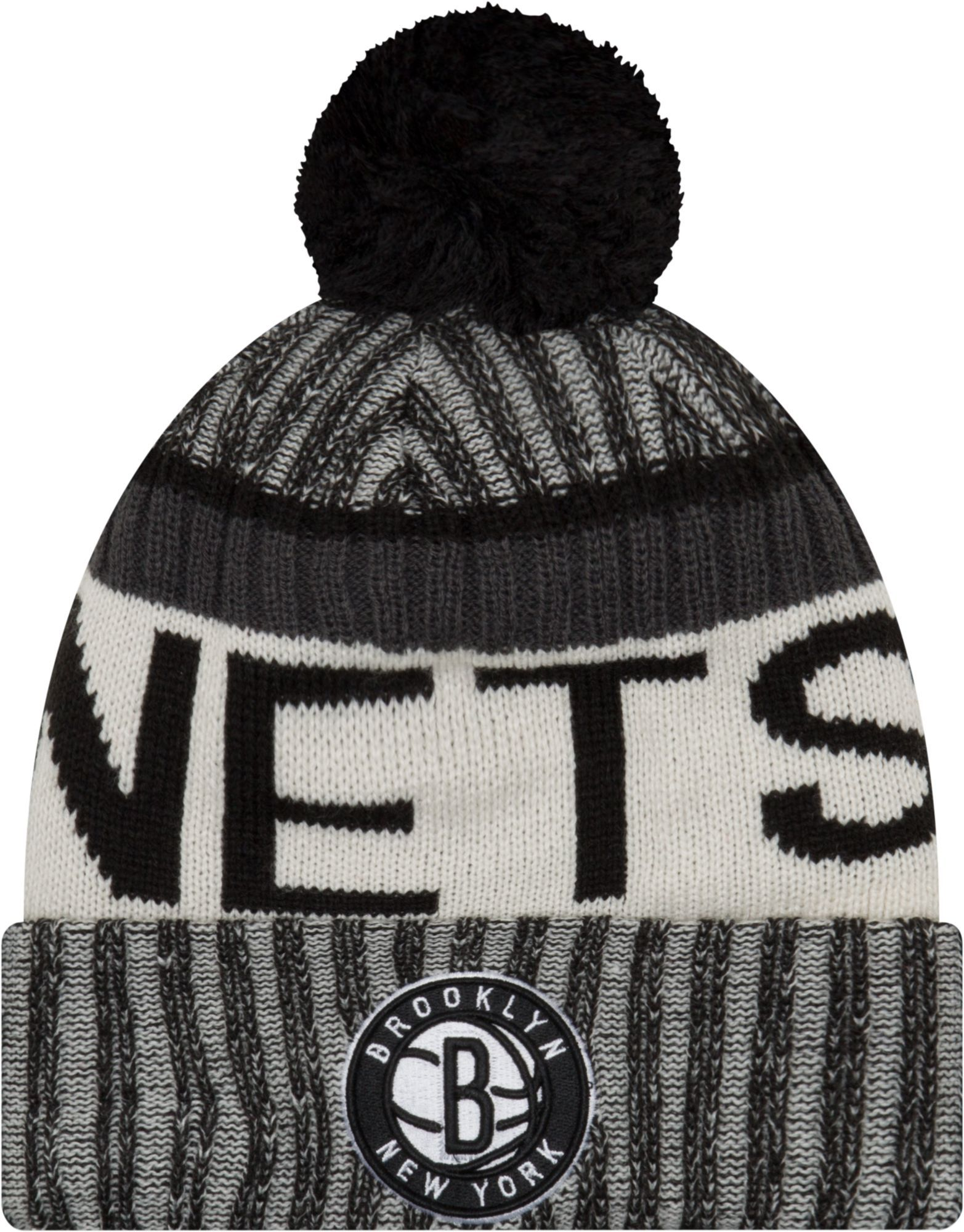 c2b868f43ae New Era Youth Brooklyn Nets Knit Hat