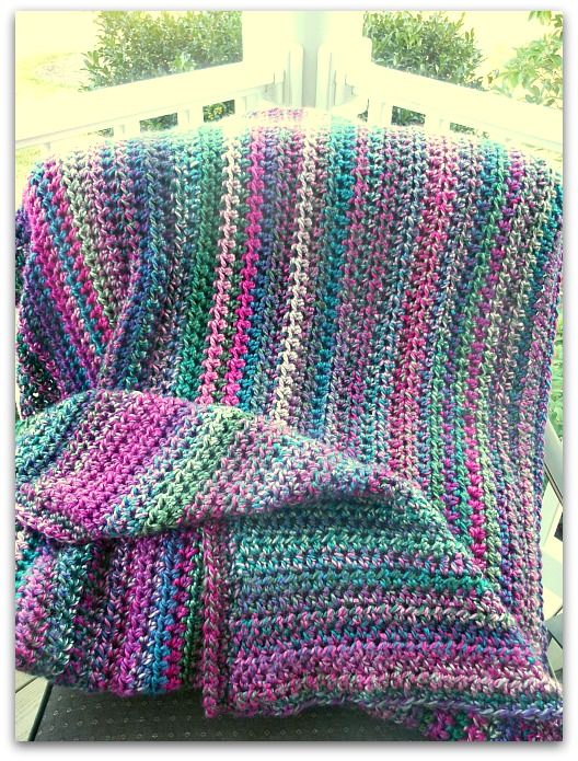 Grapevine Blanket By Carolyn - Free Crochet Pattern - (penny-hill ...