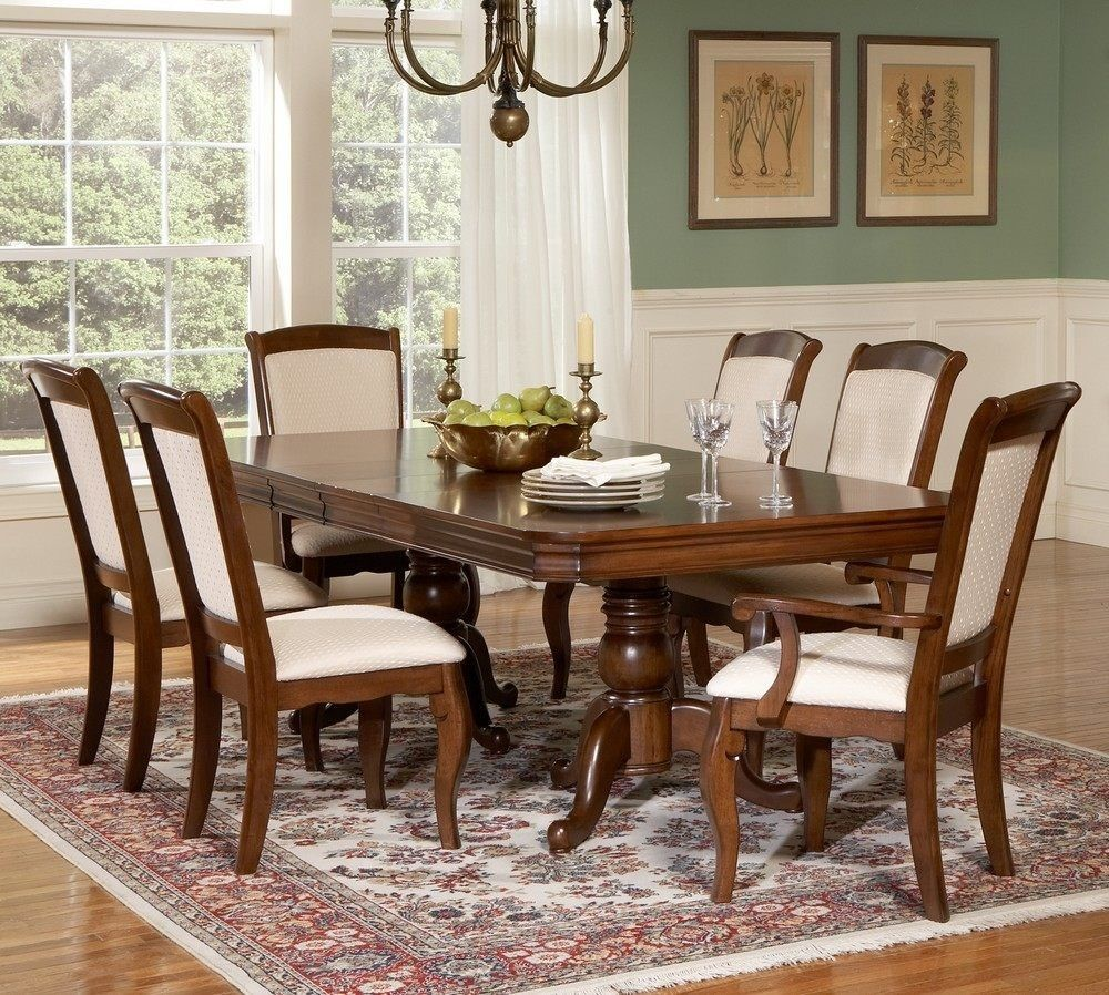 cherry wood dining room set, solid cherry dining room set ...