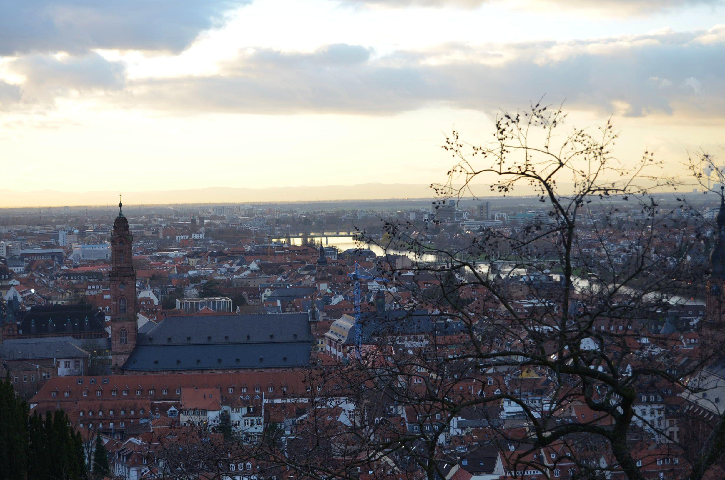 Vistas Castillo Heidelberg