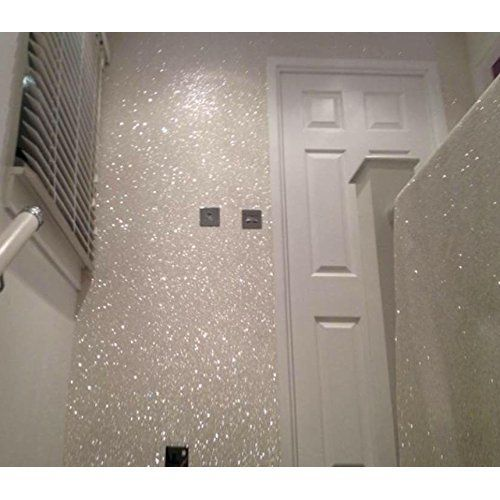 Silver 150g My Glitter Wall For Emulsion Paint Glittery Decorations Perfect Indoors And Outdoors Glitterbedroom