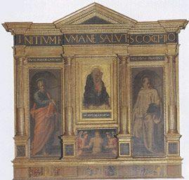 Oratorio di San Sebastiano detto dei Bini, Firenze - Giovanni Bilivert - tabernacolo di San Sebastiano