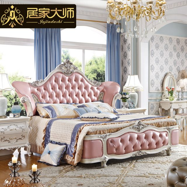 Incredible China Guangzhou Leather Modern Luxury Princess Bedroom Download Free Architecture Designs Rallybritishbridgeorg