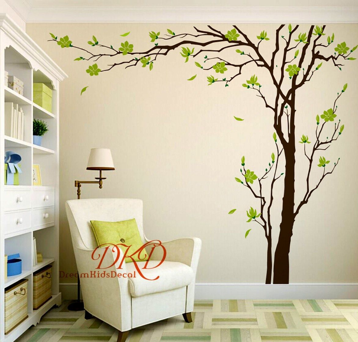 Cherry Blossom Tree Wall Decals Wall Sticker Living Room Wall Image 0 Tree Wall Decal Wall Art Living Room Wall Decor Living Room