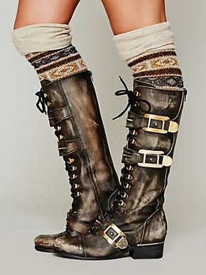 Free People Kantell Lace Up Boot, $368.00 I wish these