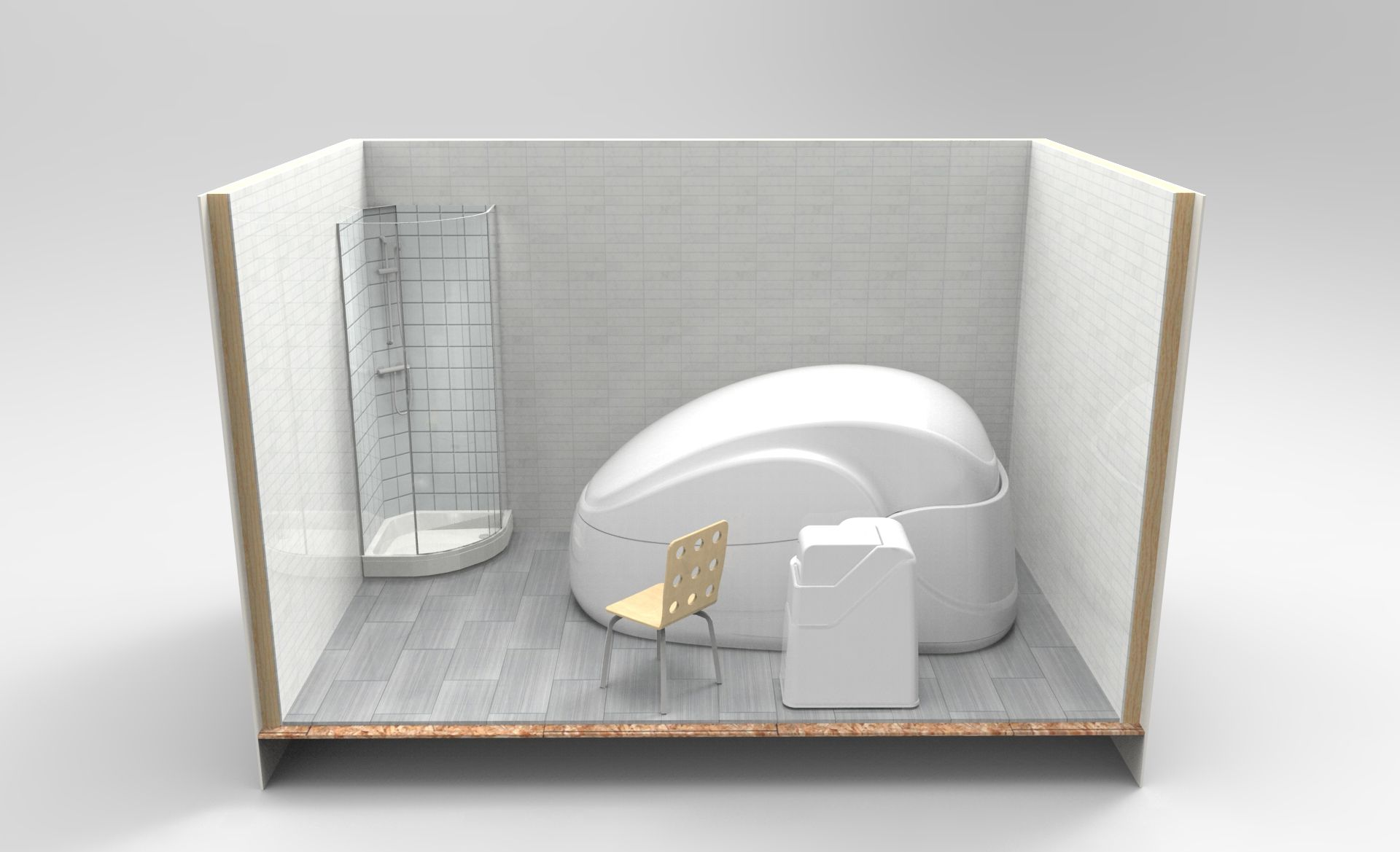 Float pod float spa isolation tank float room
