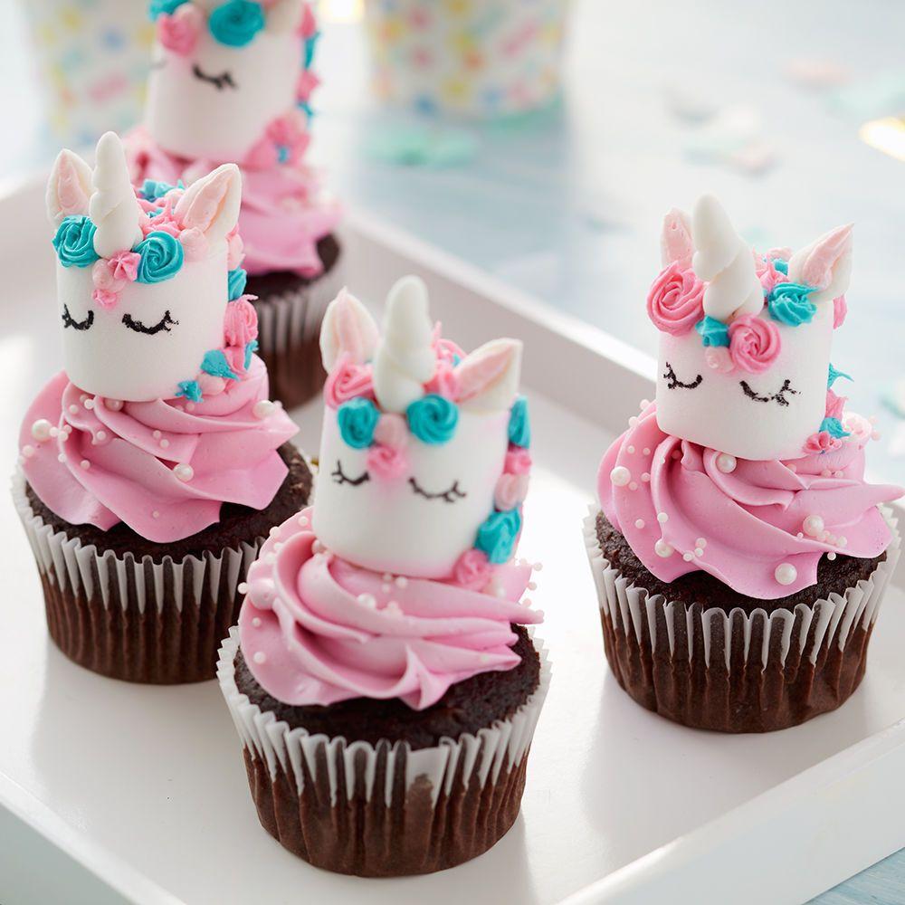Magical Marshmallow Unicorn Cupcakes In 2019 Cupcakes