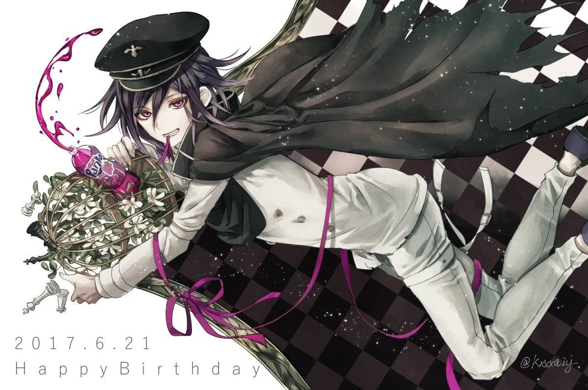 Pin By Licia Luster On Dangan Ronpa Danganronpa Ouma Kokichi New Danganronpa V3