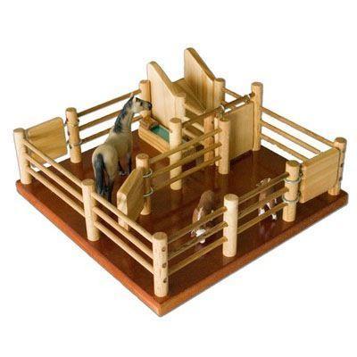 Cy1 Cattle Yard No 1 Handmade Wooden Toy Handmade