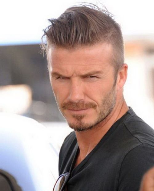 David Beckham Hairstyle Picture Gallery Mens Hairstyles