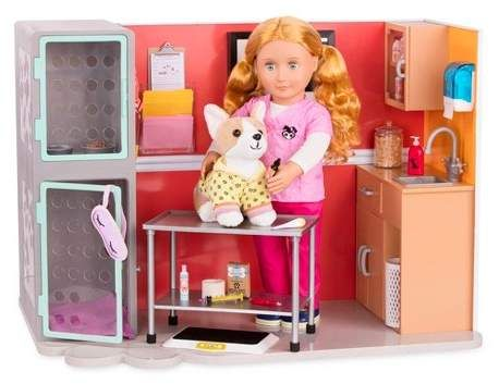 Deluxe Vet Clinic with Anasis Doll clinicroomsworks