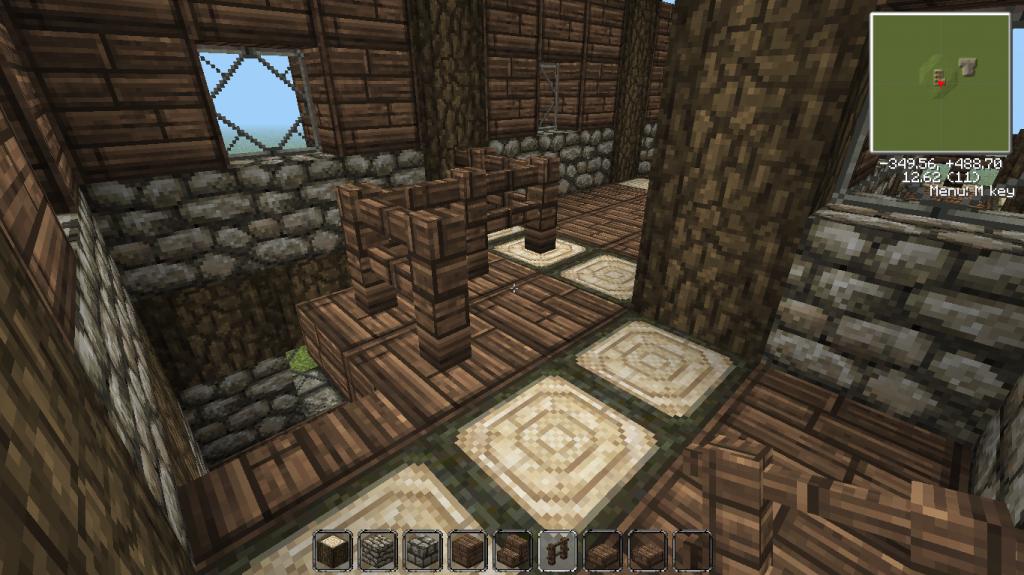 Minecraft medieval house interior design ideas 31826 for Minecraft exterior design ideas