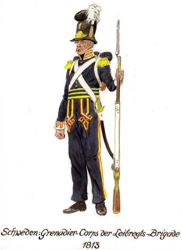 Swedish uniform Armchair General and HistoryNet>> The Best Forums in History Napoleonic