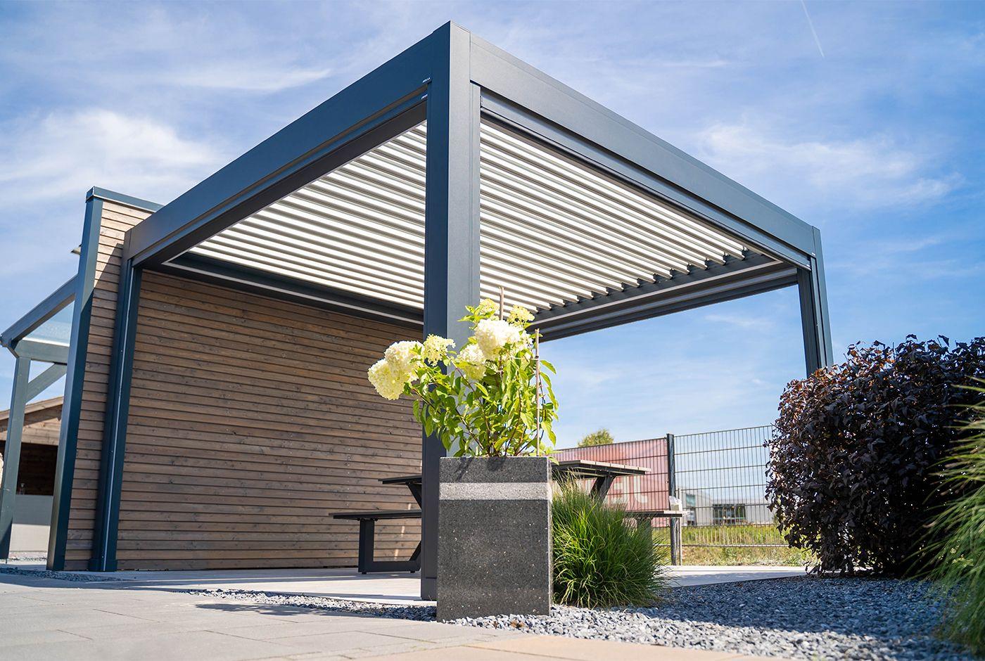Moderne Terrassenüberdachungen von Standard bis Exklusiv ...