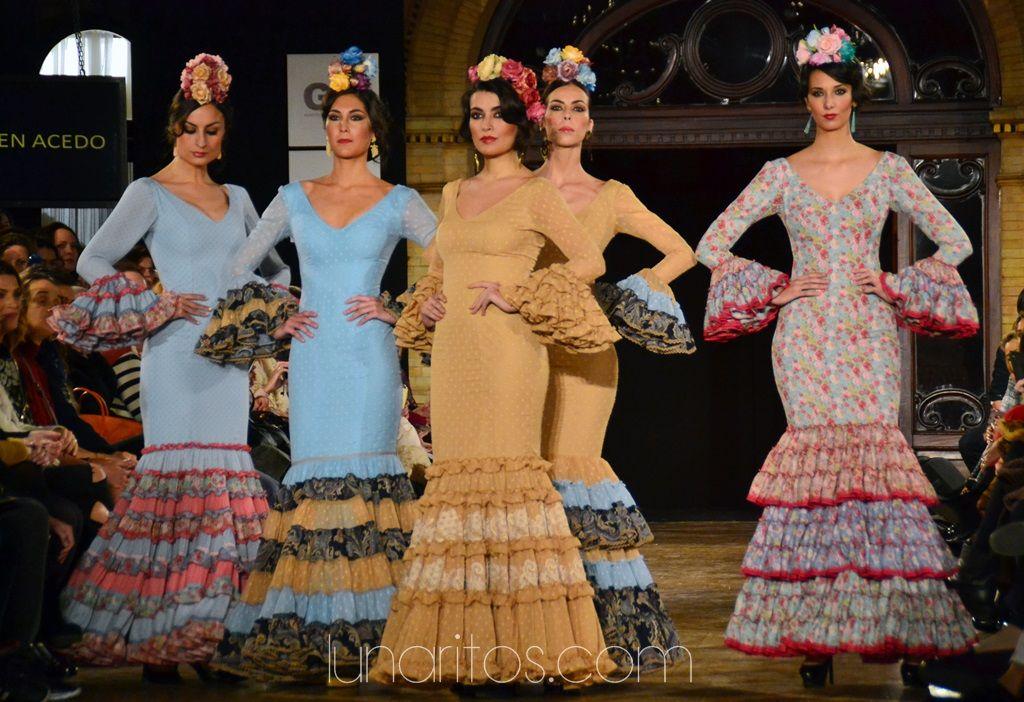 """Carmen Acedo """"Macandé"""" Vestidos de flamenca, Moda"""