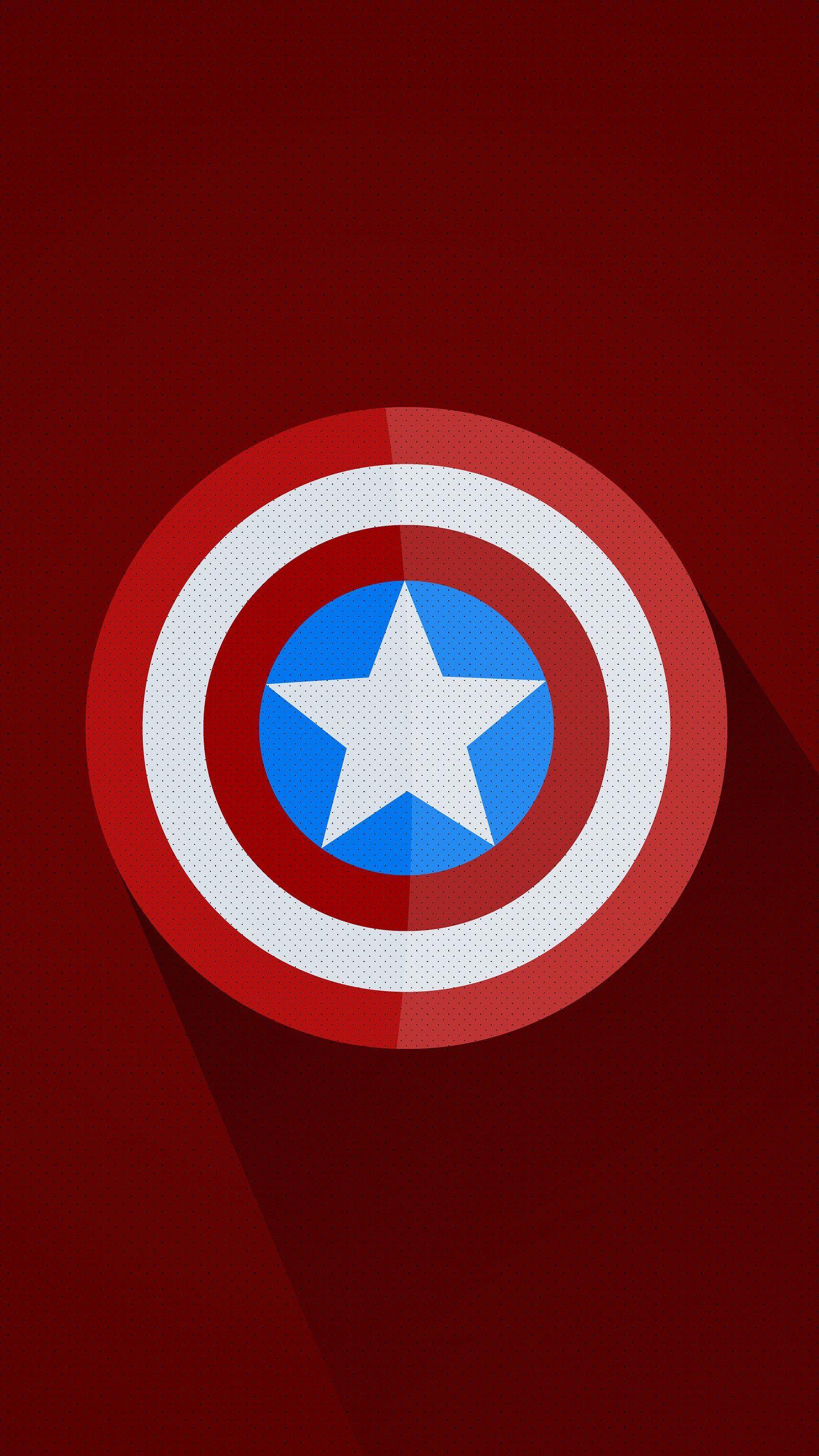 Captain America Minimal Logo 5k Hd Wallpaper In 2020 Captain