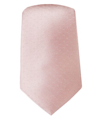 MINI DOTS - BLUSH PINK | Ties, Bow Ties, and Pocket Squares | The Tie Bar