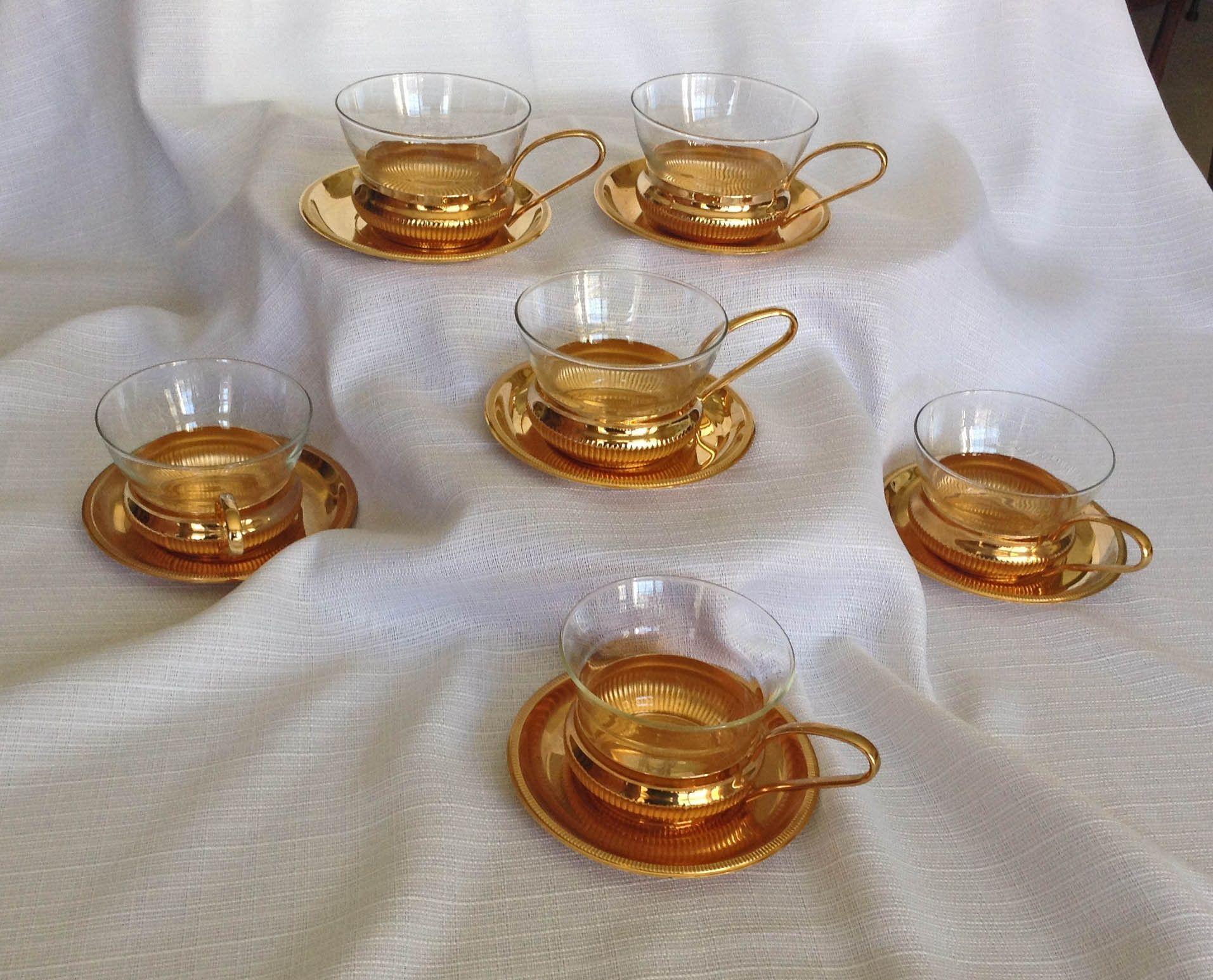 Jena Glas Schott Mainz Glass Tea Coffee Glasses Mint