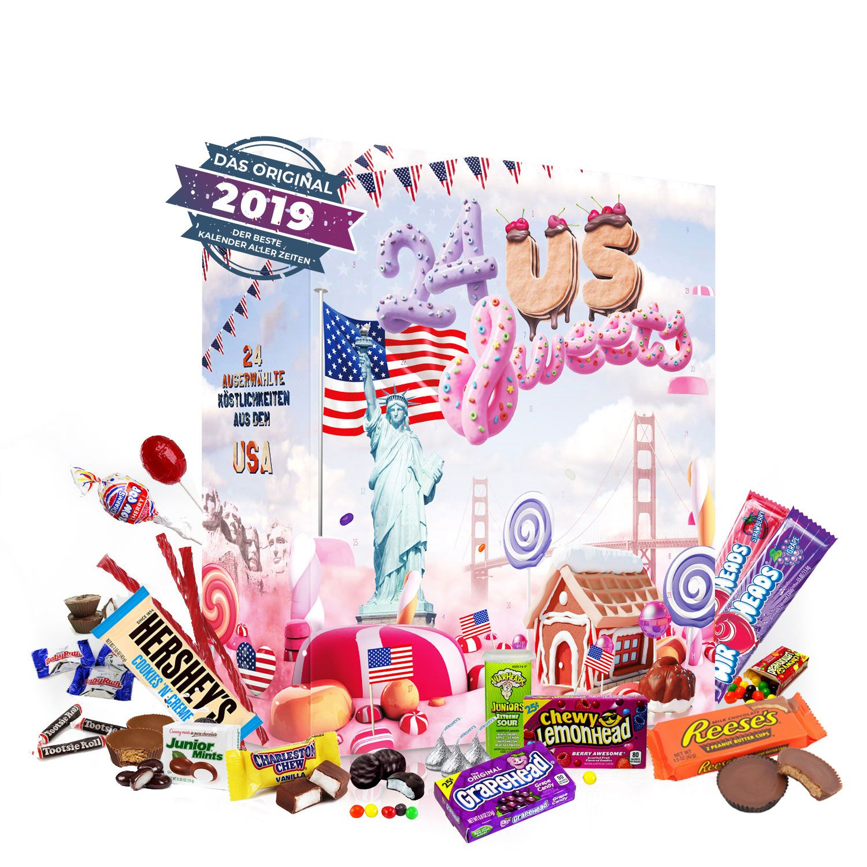 BOXILAND US Amerikanischer Adventskalender