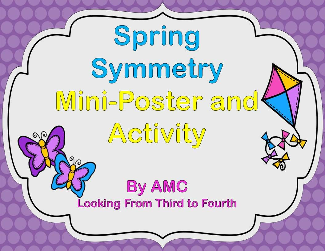 Looking From Third To Fourth Spring Symmetry Freebie And