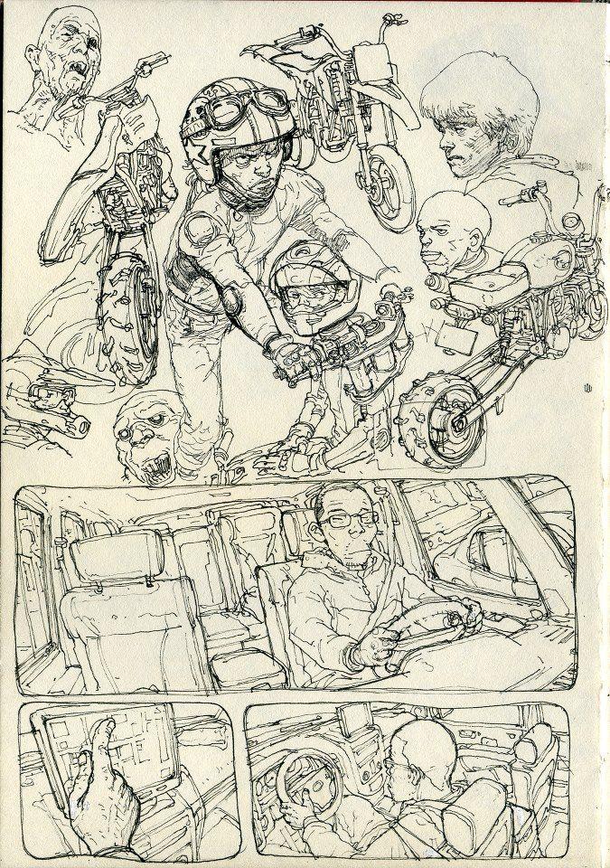 Grandes Artistas Dibujantes Y Sus Facebooks Artistas Dibujos Japoneses Como Dibujar Personajes
