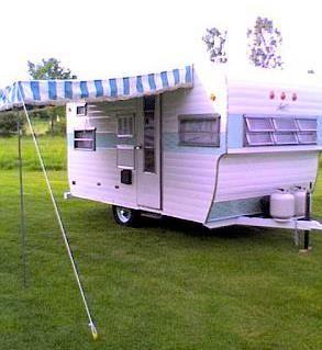 1966 Ace 17 5 Vintage Travel Trailers Vintage Camping Camper Living