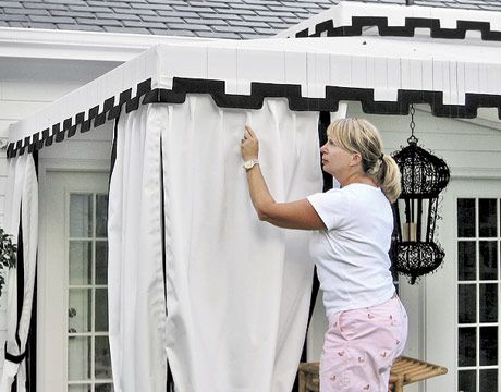 Awning Curtains Photos Curtains Decoration Ideas Outdoor Rooms Custom Awnings Outdoor