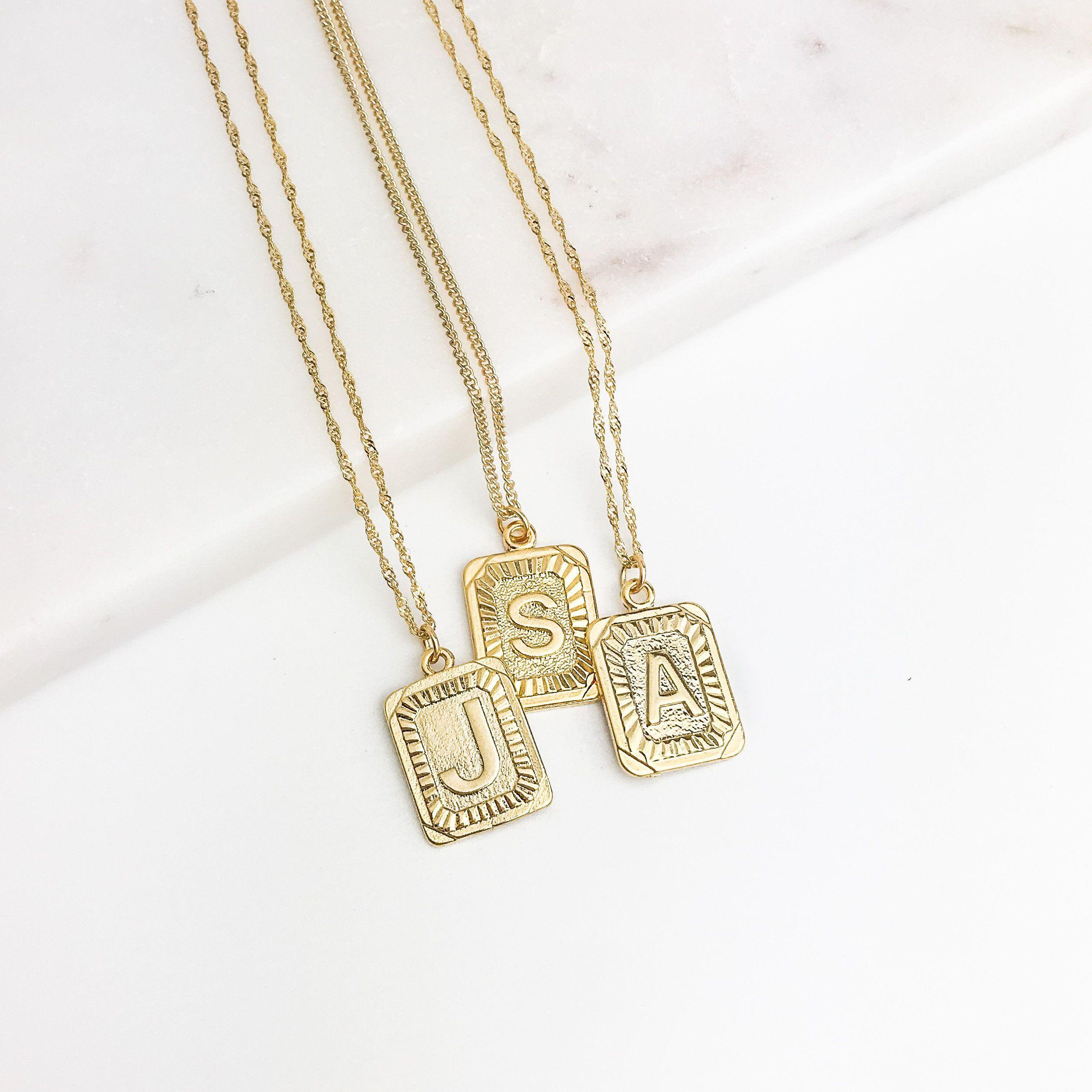 31+ Custom letter pendant gold ideas in 2021