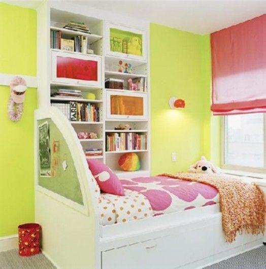 Grüne Kinderzimmer Interieurs - 20 Ideen, die inspirierend wirken ...