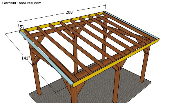 Lean to Carport Plans Free PDF Download (With images
